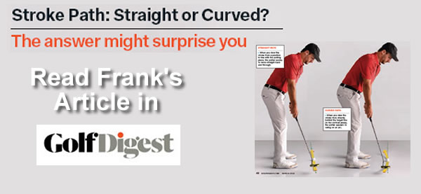 Learn how your putting stroke should move