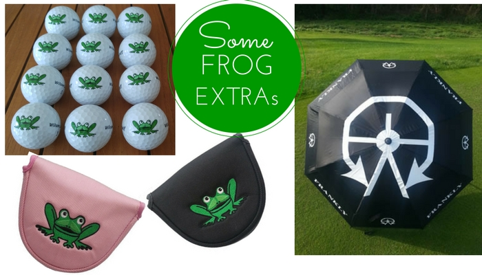 Essential Accessories for your Frankly Frog Putter