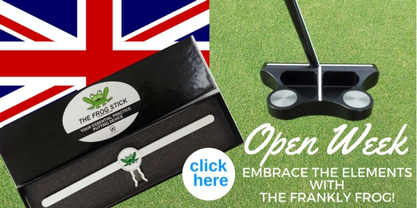 Embrace the Elements with The Frankly Frog Putter, designed by Frank Thomas