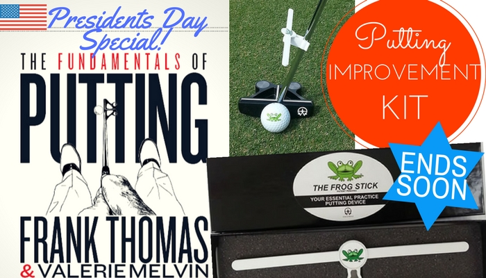 No More 3 Putts with our Putting Improvement Kit