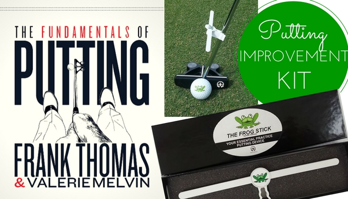 Improve on the green with our Putting Improvement Kit