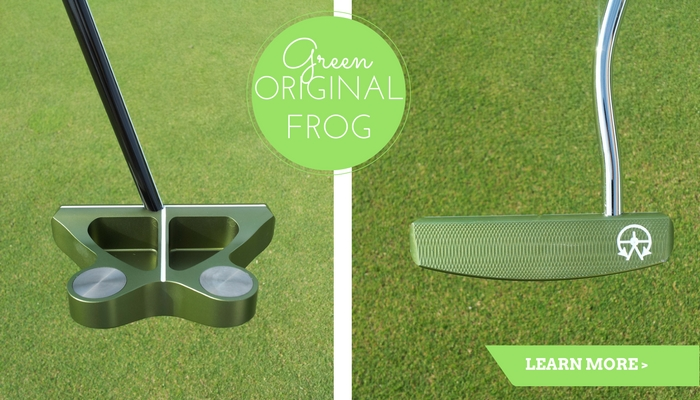 The Original Frankly Frog Putter in Green