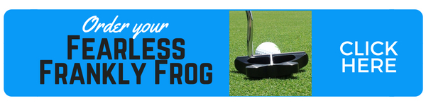 Have your next golfing adventure with The Frankly Frog Putter, designed by Frank Thomas