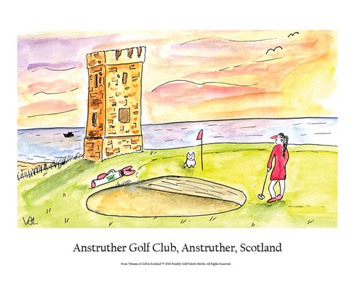 Anstruther Golf Club Poster