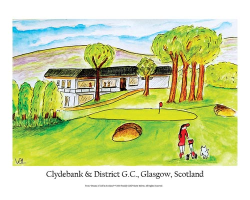 Clydebank and District Golf Club Poster
