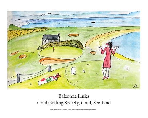 Crail Golfing Society Poster