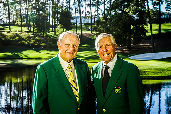 Jack Nicklaus and Gary Player Join the Celebration of the 50th year of the Invention of the Graphite Shaft