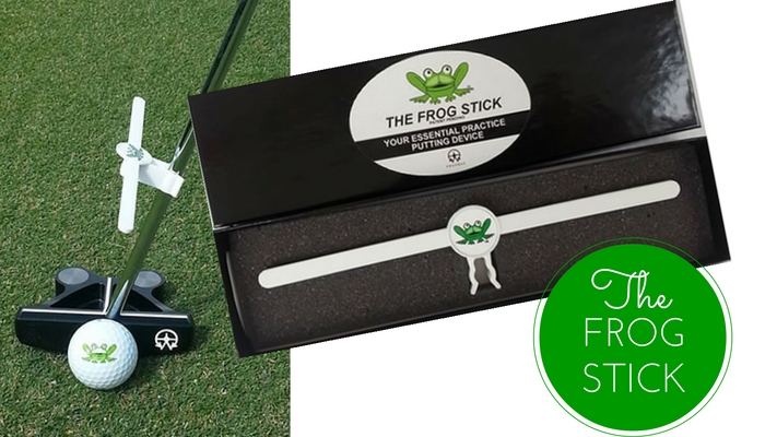 The Frog Stick: Your Ultimate Putting Practice Device
