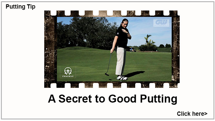 This Week's Putting Tip
