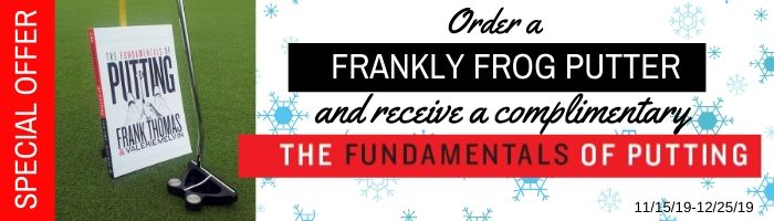 Frankly Frog Putter Special Holiday Offer