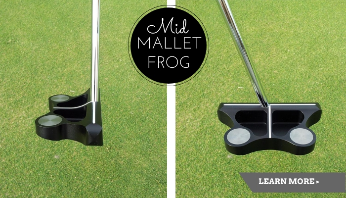 The Mid-Mallet Frankly Frog Putter