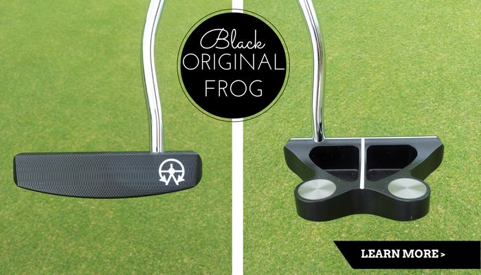 The Original Frankly Frog Putter in Black
